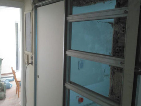 Ανακαίνιση κατοικίας Παλαιό Φάληρο