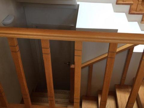 Διαχωρισμός ισόγειου – υπoγείου Διόνυσος